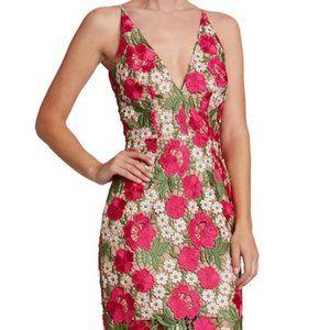 Dress the Population Aurora midi Dress in floral